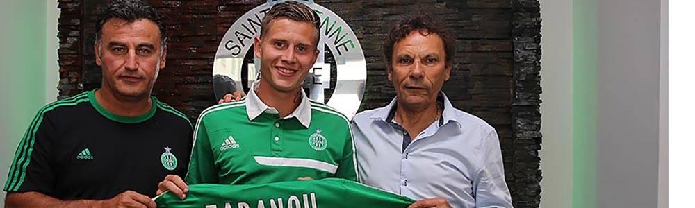 Franck Tabanou s'est officiellement engagé avec l'ASSE