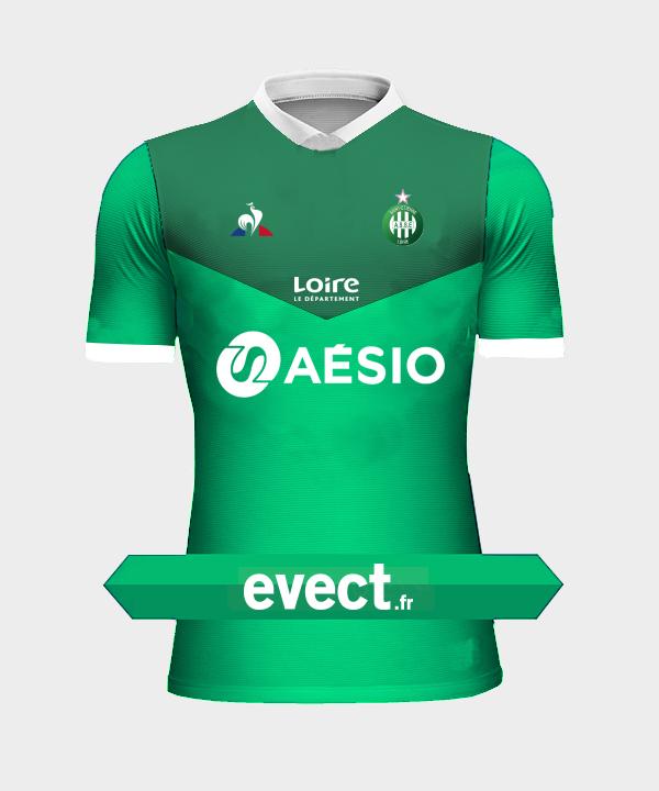 Calendrier Asse 2021 2022 Voici à quoi devrait ressembler le nouveau maillot de l'ASSE !