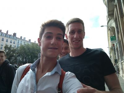 Photo avec beric