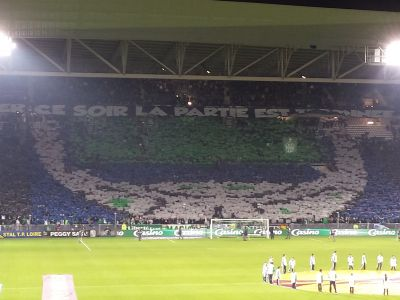 tifo MF contre l'inter