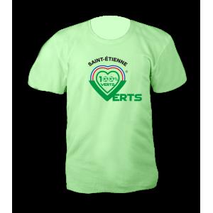 T Shirt Collector 100% Verts