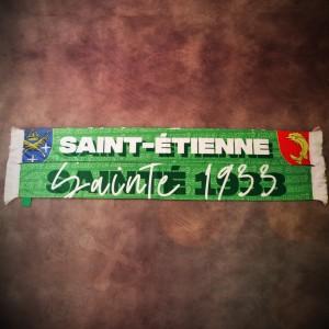 Écharpe satin Sainté 1933
