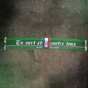 Écharpe satin Anti-Lyonnais