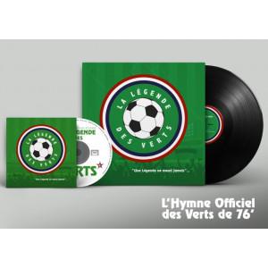 """CD """"La légende des Verts"""""""