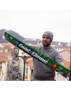 Écharpes satin - Supporters ASSE